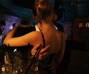 clubbing, couple, and music image