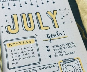 journal, bullet journal, and stationery image