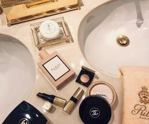 chanel, cosmetics, and gucci image