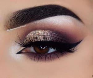 beaty, make up, and glitter image