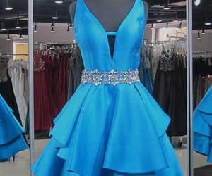 homecoming dress, homecoming dress short, and homecoming dress v-neck image