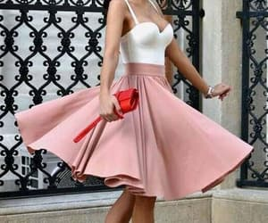 prom dresses short, blush homecoming dress, and prom dresses a-line image