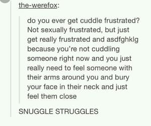 cuddles, goals, and snuggle image