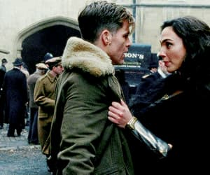 chris pine, gif, and gal gadot image