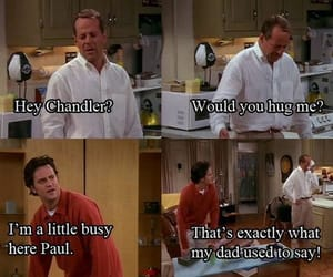 friends, bruce willis, and paul image