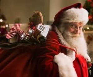 christmas, santa claus, and merry christimas image