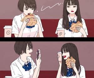 artist, fast food, and illustration image