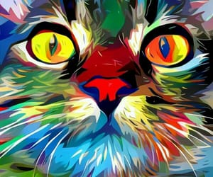 animal, art, and cats image