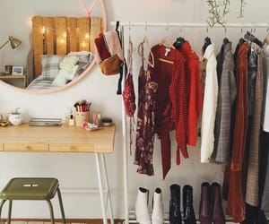room, clothes, and decor image