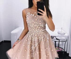 prom dress, homecoming dresses, and a-line homecoming dress image