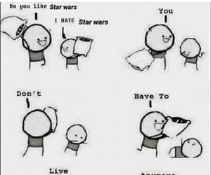 funny, jokes, and star wars image