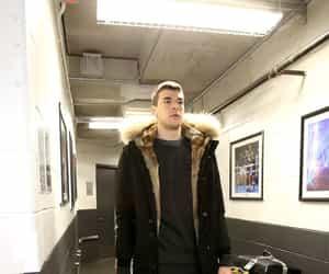 Basketball, celebrities, and fashion image