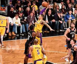 Basketball, celebrities, and LeBron James image