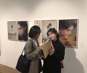 aesthetic, art gallery, and asians image