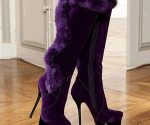 purple and boots image