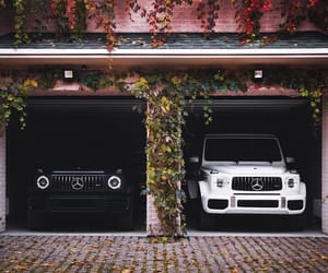 benz, mercedes, and black image