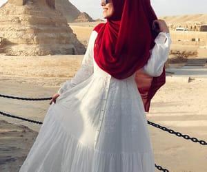 egypt, fashion, and hijab image