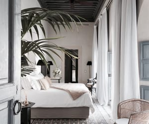 bedroom, beauty, and chic image