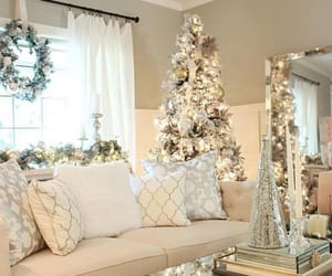 apartments, christmas tree, and decor image