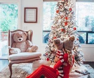 christmas, girl, and family image