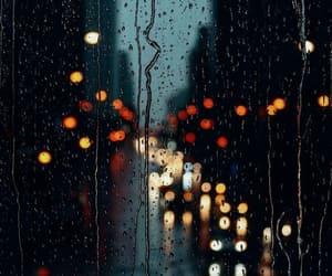 rain, light, and background image