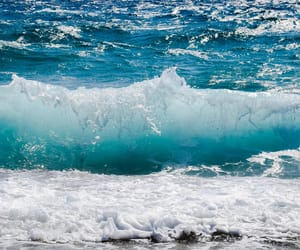 sea, water, and waves image