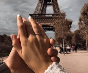 aesthetic, couple, and france image