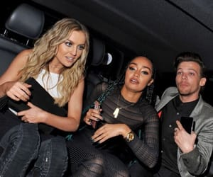 louis tomlinson, one direction, and little mix image