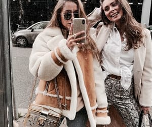 fashion, friends, and friendship image