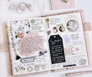 Collage, journaling, and planner image