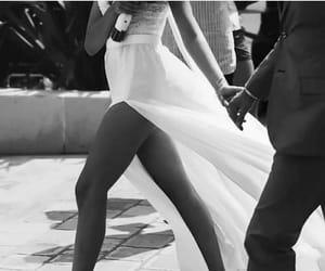 beautiful, black and white, and fashionista image