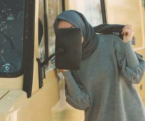 arab, muslim, and hijab style image