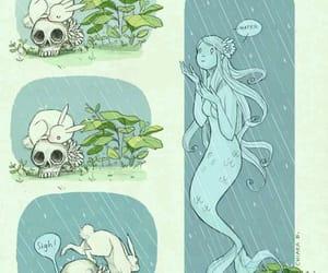 Chiara Bautista, art, and mermaid image