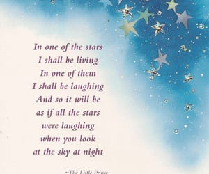 quotes, stars, and the little prince image