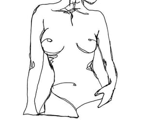 art, woman, and body image