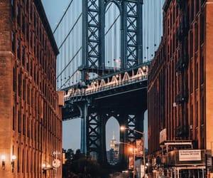 brooklyn bridge, city, and dreamy image