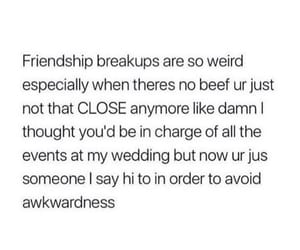 breakup, help, and quote image