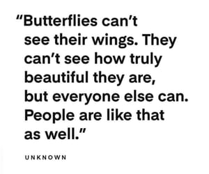 quotes and butterfly image