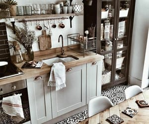 decor, house, and kitchen image
