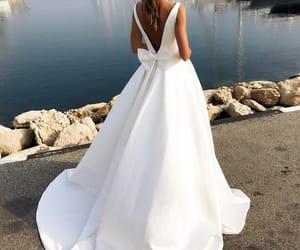 bride, dress, and elegance image