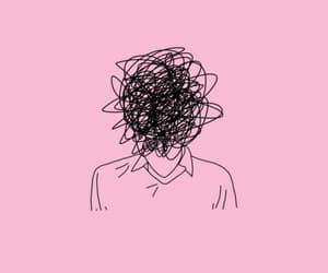 background, minimalist, and pink image