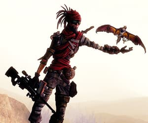 borderlands, mordecai, and bloodwing image