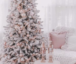 christmas, tree, and white image