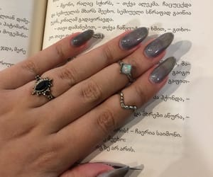 book, fashion, and fingers image