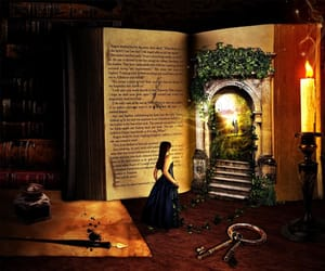 book, fantasy, and quirky image