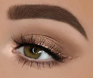 makeup and brows image