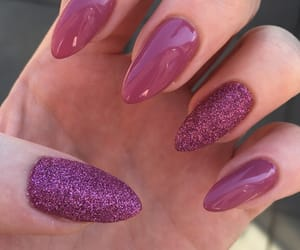 glitter, nail, and nails image
