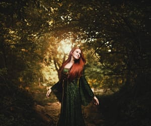 ginger, girl, and redhair image