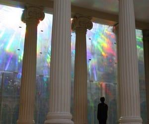 rainbow, grunge, and aesthetic image