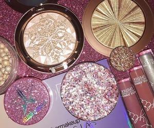 makeup, glitter, and anastasia image